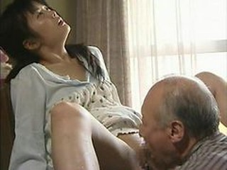 Asian Japanese Licking Old and Young