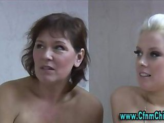 CFNM Mature Old and Young Teen