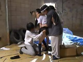 Asian Gangbang Hardcore Teen Uniform