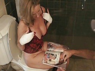 MILF Natural Toilet