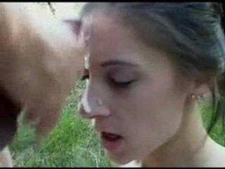 Amateur Cumshot Facial Outdoor Teen