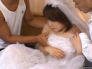 Asian Bride Teen Threesome Uniform