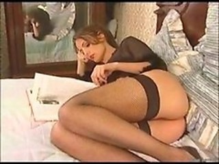 Ass Babe Cute European French Stockings