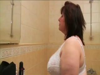 Bathroom Big Tits Granny