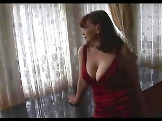 Big Tits Mature Milf Shows Off S...