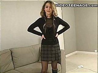 Amateur Casting Stripper Adolescente