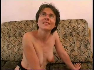 French MILF takes a BBC and loves it