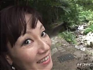 Sweet skinny Asian babe gets fingered in the van and fucked outdoors