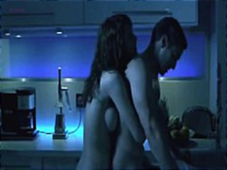 Sexy brunette celeb, Deborah Revy, in steamy naked scenes from the movie Q