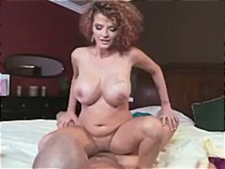 Busty redhead Joslyn James in the movie Bound To Cum On Your Tits does