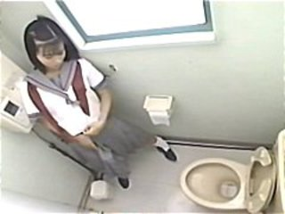 Asian  Japanese Teen Toilet