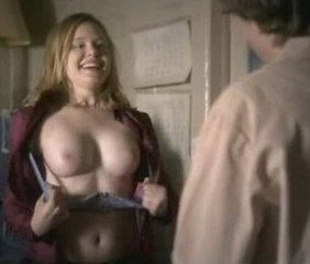 Alison Pill flashes tits onscreen