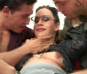 Pregnant gangbang with men