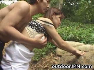 Amateur precious looking real Asian hot pounded