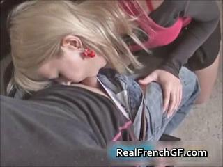 Amateur Blowjob Clothed European French Girlfriend Teen