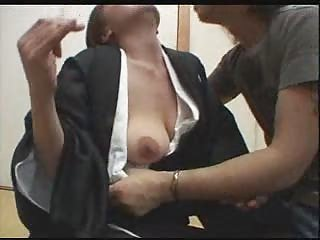Asian Japanese MILF Nipples SaggyTits