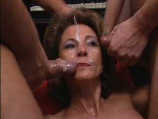 Cumshot Facial European Gangbang German Mature