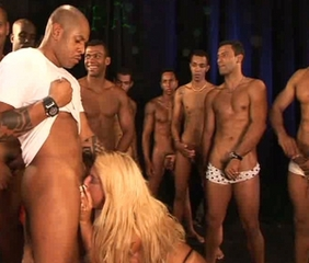 Blonde Blowjob Brazilian Gangbang Interracial Latina MILF