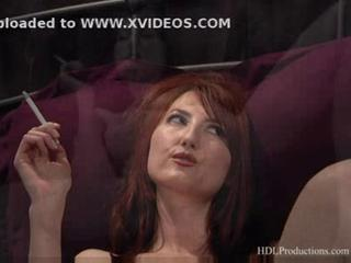 Kendra james - smoking fetish at dragginladies