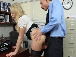 Amazing Clothed Cute Doggystyle Hardcore MILF Office Pornstar Secretary