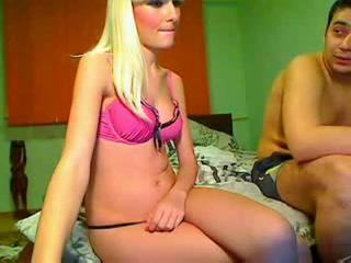 Hot webcam babe with dildo and great body