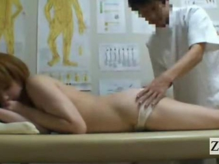 Subtitled Japanese newhalf shemale defoliated butt rub down