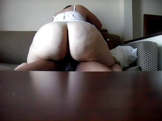 PAWG Riding BBC Bareback