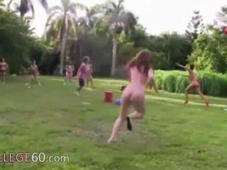 Nudist Outdoor Public Sport Student Teen