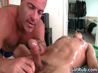 Massage pro gets his fine ass fucked part3