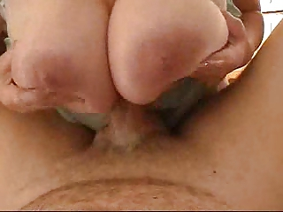 Huge German Titfuck with poor Cock