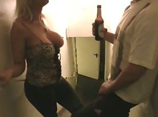 Amazing Big Tits Drunk European German MILF