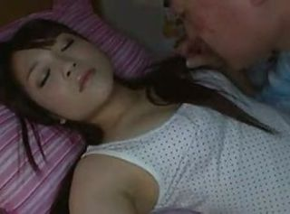 Asian Cute Daughter Sleeping Teen