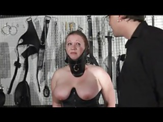 Bdsm Big Tits Corset Latex Mature