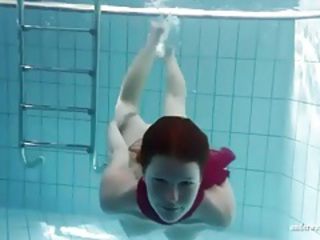Take a swim with a skinny girl solo tubes