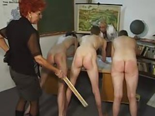Mature School Spanking Teacher