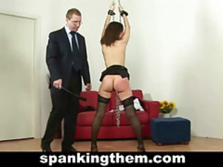 Punished by her boss tubes