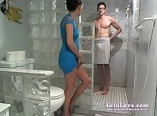 Lelu LoveWEBCAM Facial Shower Poledancing