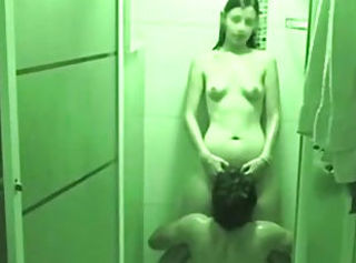 Cute Petite Teen Shower Sextape