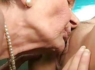 Teen loves very old granny