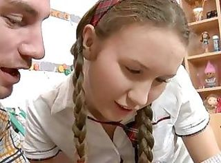 Pigtail Student Teen