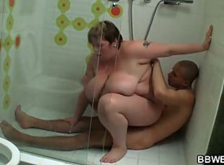 BBW Mature Mom Old and Young SaggyTits Showers
