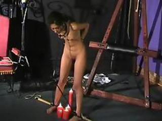 Sahara Knite Bare Whipping Inside Indian Pain Pleasure Of Famous Got Centerfold Bound And Punished Inside A Dungeon. Sahara Knite Is Gagged, Drooling And Spanked Till A Kinky Indian Fetish Model Is Fa