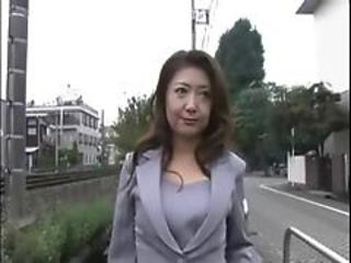 Asian Japanese MILF Outdoor Public