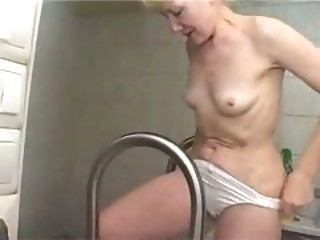 Mature Mom Panty Pool Small Tits Stripper