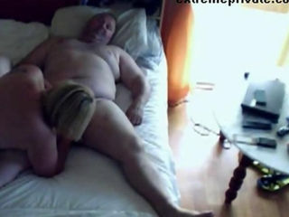 Voyeuring Materfamilias sucking cock neighbor