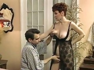Lingerie Mature Mom Old and Young Vintage