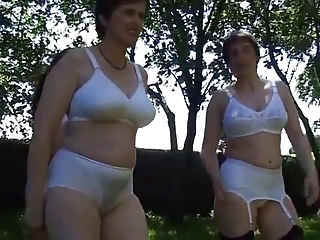 Lingerie milf Of a female lesbian party3
