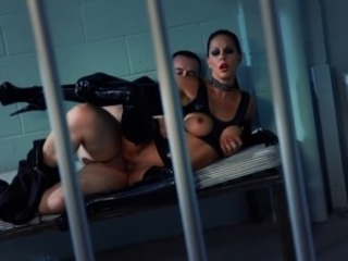 European French Latex MILF Prison