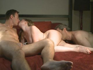 Cuckold Teen Threesome