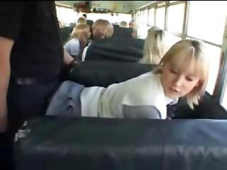 Bus Doggystyle Student Teen
